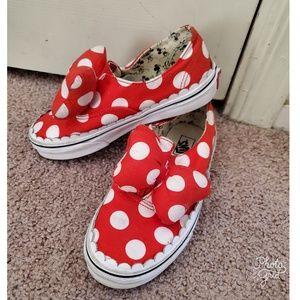 Disney x Van's minnie mouse sneakers